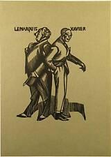 Gravure sur bois de Hermann-Paul, Les deux aristocrates