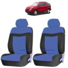 BLUE ELEGANCE AIRBAG COMPATIBLE LOWBACK SEAT COVER SET for PONTIAC G6 TORRENT