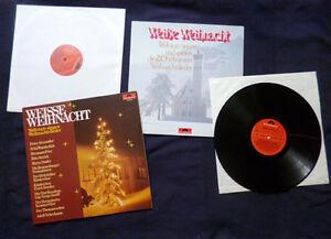 2 LPs Weisse Weihnacht Christmas POLYDOR Roy Black Karel Gott  Peter Alexander