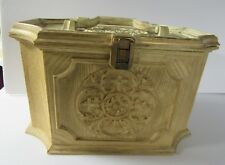 Sewing Chest / Box Max Klein  Fancy French Provincial Style Off White Vintage