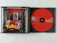TOBAL 2 PS1 Square Sony Playstation From Japan