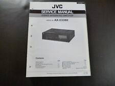 Original Service Manual JVC AX-E33BK