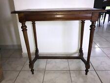 Petite table console en chene doré meuble ancien XIX début XX