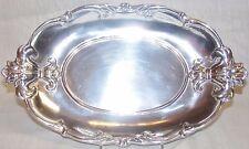 """Arthur Court Designs Fleur-De-Lis 13.5"""" Oval Tray"""