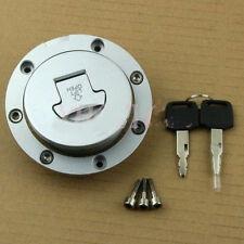 Fuel Gas Tank Cap Cover Keys for Honda CBR600RR 03-14 CBR600 91-98 F4i 01-06