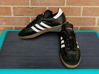 Adidas Samba 034583 Men's Soccer Shoes Black Size 8