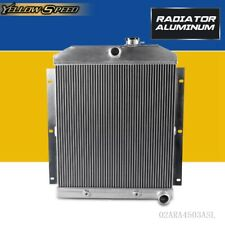 For CHEVY 3100/3600/3800 TRUCK PICKUP l6 Aluminum Racing Radiator 1947-1954