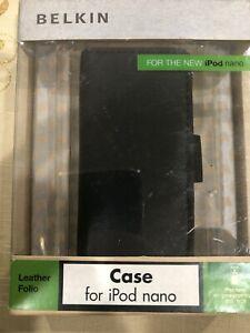 Belkin Leather Folio Case For Ipod Nano F8Z395-BBY