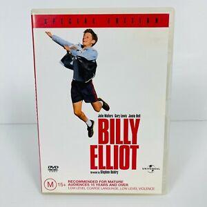 Billy Elliot (DVD, 2000) Jamie Bell Region 4 Free Postage