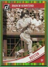 Andrew Benintendi - Boston Red Sox - 2018 Donruss Gold Press Proof #d/99