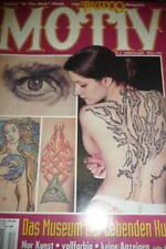 "Ein Tattoo Magazin "" Motiv Nr. 6 1994 Jubiläumsausgabe viele Motive Bob Marley"