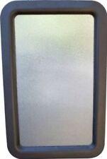 RV Camper Travel Trailer Entry Door Window w/Interior and Exterior Black Frame