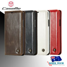 Synthetic Leather Mobile Phone Flip Cases for Samsung Galaxy S8