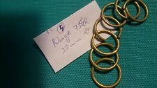 Messing Ringe Restauration antik vintage brass fittings antique restore rings 5