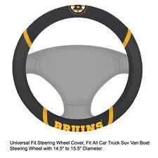 Fan Mats NHL Boston Bruins Car Truck Suv Van Boat Steering Wheel Cover