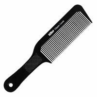 PRO KODO CLIPPER COMB BARBER COMB PERFECT FOR CREATING HAIRCUTS BLACK PLASTIC