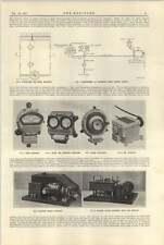 1921 sistema di controllo velocità Needham Macchina movimento cronografo REGISTRATORE rosenhain