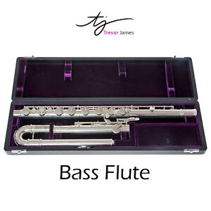 Trevor James Bass Flute | Performers Series 33253 | Soldered Toneholes!