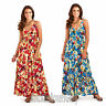 Ladies Poppy Strappy Maxi/Summer/Beach Dress Size 8, 10, 12, 14, 16, 18, 20, 22