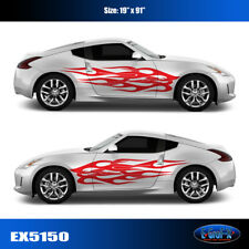 5150 Flame Vinyl Graphics Body Decals CAR TRUCK Sticker High Quality EgraF-X