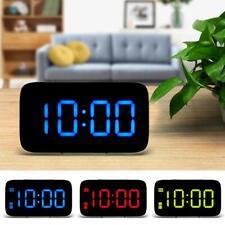 Smart LED Digital Alarm Clock,USB and Battery-Operated,Auto Sensor ,Snooze Alarm