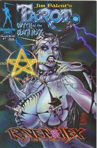 Tarot Witch of the Black Rose 7a 7 a Jim Balent NM sexy NM- FREE UK POST