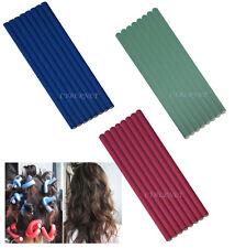 24 X Bendy el cabello ruleros Peluquería Pelo De Espuma Suave Cómoda Rulos Twist Flex