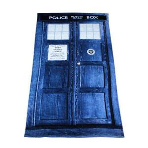 Doctor Who coral fleece swimming towel bathing towels anime gift new