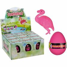 Hatch-em Hatching EGG Growing FLAMINGO Toy Children Kids Growing Pet EGG UK POST