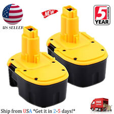 2 X For Dewalt DC9091 14.4V XRP Battery DW9091 DW9094 Ni-CD Extended Power Tools