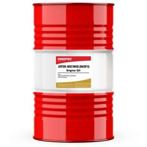SINOPEC 5W30 FULL SYNTHETIC ENGINE OIL - 55 GALLON DRUM