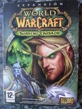 World of Warcraft The Burning Crusade PC Nuevo precintado Rol en castellano.,