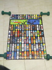 Skateboard Deck Poster - Instore Promo Posters - 34 x 23 inches