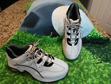 Footjoy Stability Support Golf shoes Men SZ 10 1/2 W Excellent condition 2 tone