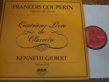 LHL4 5096 Couperin Quatrieme Livre (Vols. 13 - 16) / Gilbert 4 LP box