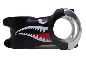 Da Bomb Shark Mountain Bike MTB Stem 31.8mm Black