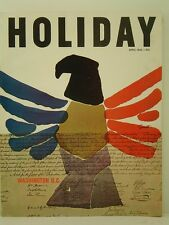 1962 Holiday Magazine: Washington D.C. - Entire issue Devoted To