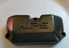 KX125 KAWASAKI 1991 KX 125 91 LEFT EXHAUST VALVE RESONATOR COVER