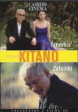 "COFFRET 2 DVD NEUF ""TAKESHI'S / ZATOICHI"" Takeshi KITANO"