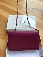 Givenchy Pink Pandora Chain Wallet and Bag