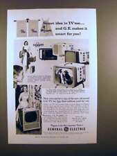 1956 GE Television Ad - Smart Idea in TV Too!