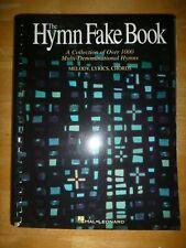 Fake Book: Hal Leonard - The Hymn Fake Book