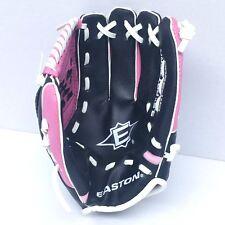 "Easton 9.5"" Pattern Youth Child Baseball Glove EKP9500 Right Hand Thrower Pink"