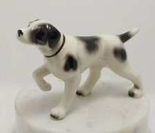 "Vintage Collectable Figurine - English Setter Dog - Made in Japan - 6"" Long"