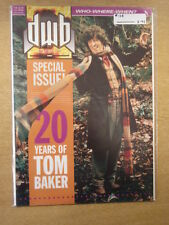 DOCTOR WHO DWB #128 1994 JULY BRITISH MAGAZINE DR WHO TOM BAKER COVER