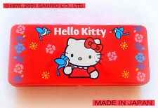 SANRIO Hello Kitty VINTAGE 2001 Astuccio Latta Metal Tin Pencil Case MADE JAPAN