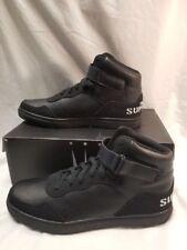 Dada Supreme, High-Top Fashion Shoes, Men,DS1006, black, Size 8.5 US
