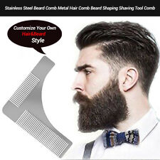 Fashion The Beard Bro-Beard men Shaping Comb Tool  Perfect Lines Cut Template RT