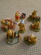 Classic Winnie The Pooh - set of 7