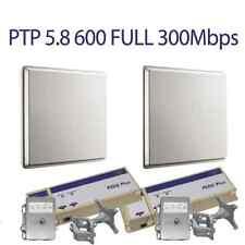 Motorola PTP600 5.8GHz Full 300Mbps Integrated Complete Link w/ PIDU, Mounts LPU